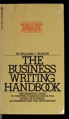 Download The business writing handbook