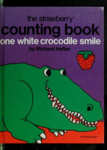 One white crocodile smile
