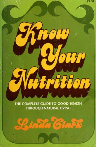 Know your nutrition