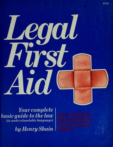 Download Legal first aid