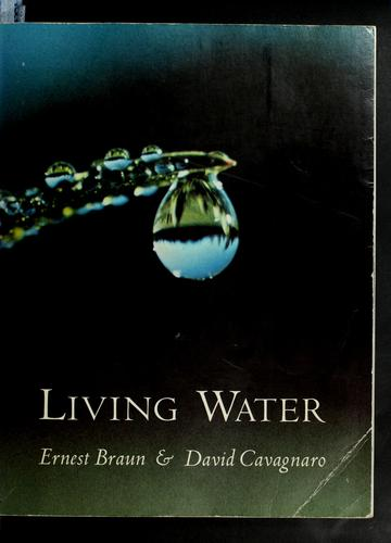 Living water.