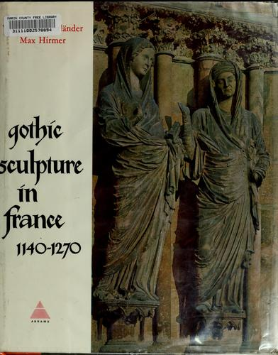 Download Gothic sculpture in France, 1140-1270.