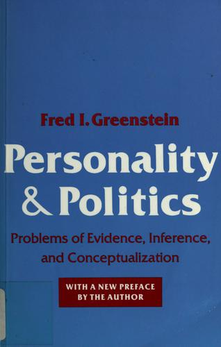 Download Personality and politics