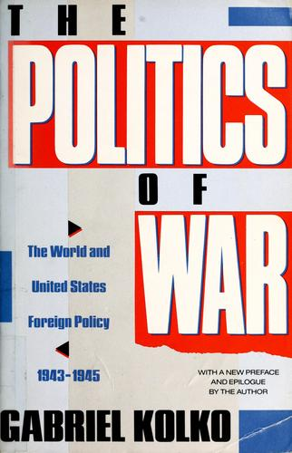 Download The politics of war