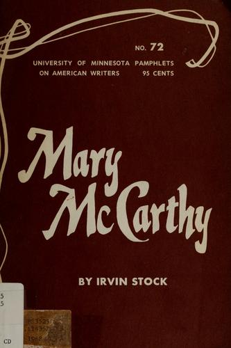 Download Mary McCarthy.