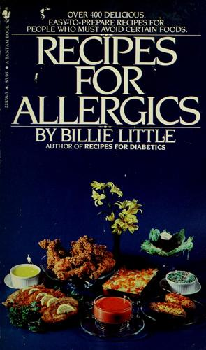 Download Recipes for allergics