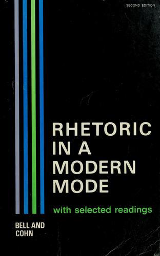 Download Rhetoric in a modern mode