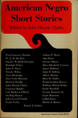 Download American Negro short stories.
