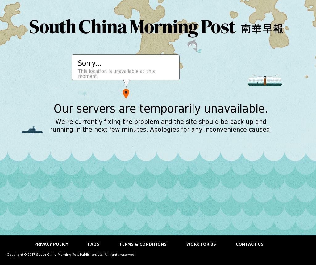 South China Morning Post at Friday Sept. 15, 2017, 2:17 a.m. UTC