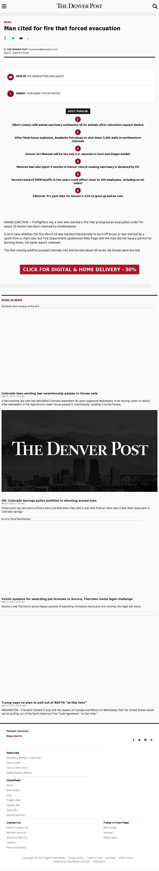 Denver Post at Thursday April 27, 2017, 2:06 p.m. UTC