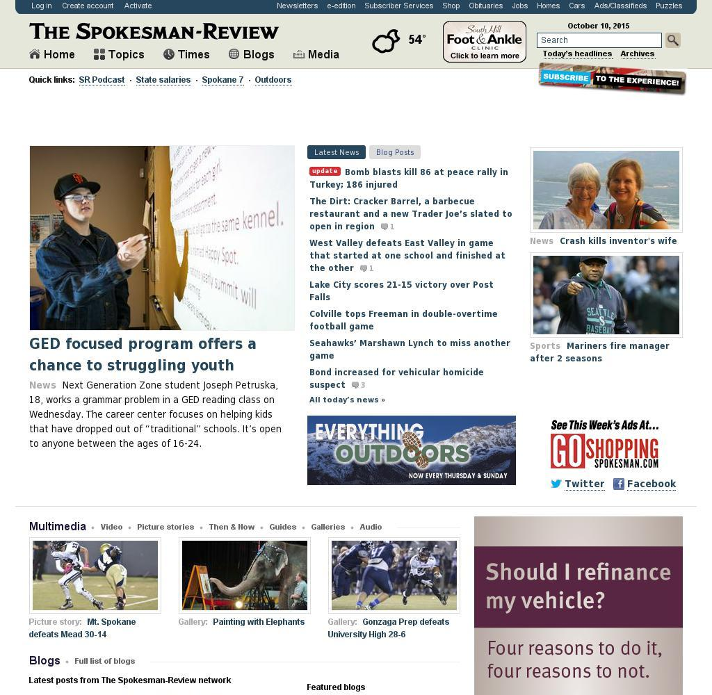 The (Spokane) Spokesman-Review