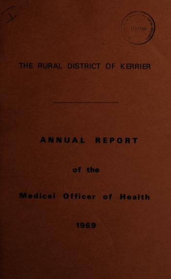 [Report 1969] by Kerrier (England). Rural District Council