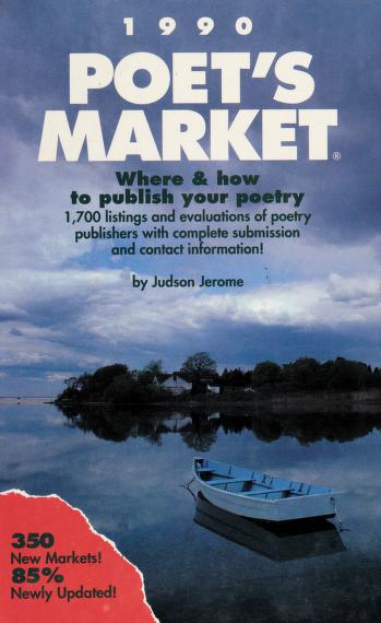 Cover of: Poet's Market, 1990 | Jerome, Judson.
