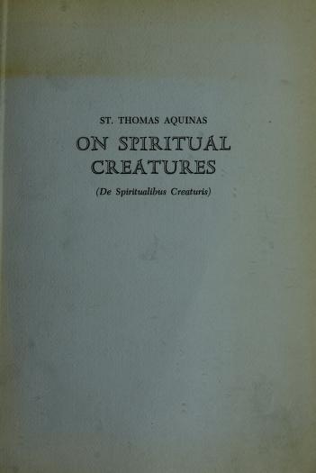 Saint Thomas Aquinas by Thomas Aquinas