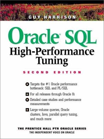 Oracle SQL high-performance tuning by Guy Harrison