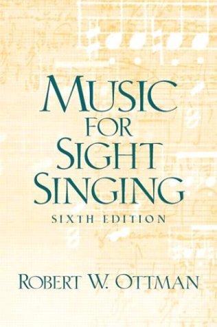 Music for Sightsinging (6th Edition)