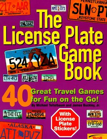The license plate game book by Michael Teitelbaum