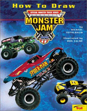 How to Draw Monster Jam by Ron Zalme
