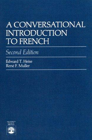 A conversational introduction to French