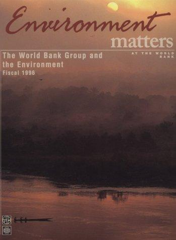 The World Bank & the Environment