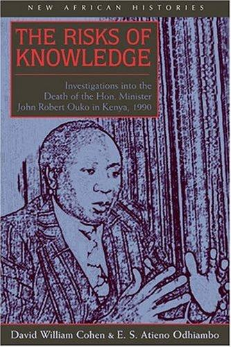 The risks of knowledge by David William Cohen