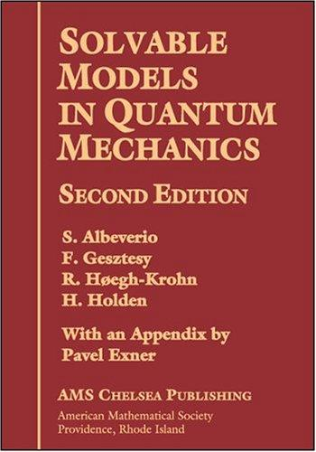 Solvable models in quantum mechanics by