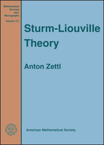 Sturm-Liouville theory by Anton Zettl