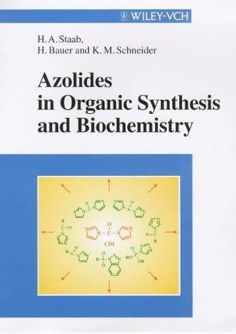 Azoliten in organic synthesis and biochemistry by
