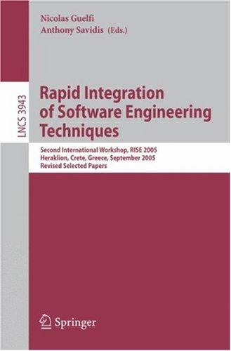 Rapid Integration of Software Engineering Techniques by