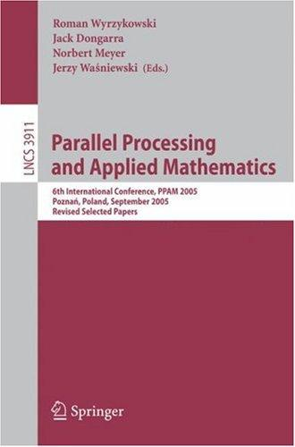Parallel processing and applied mathematics by PPAM 2001 (2001 Nałęczów, Lublin, Poland)