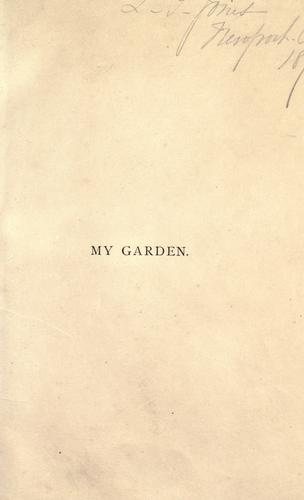 My garden by Alfred Smee
