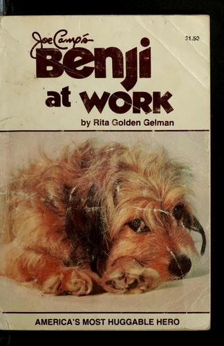 Joe Camp's Benji at work by Rita Golden Gelman