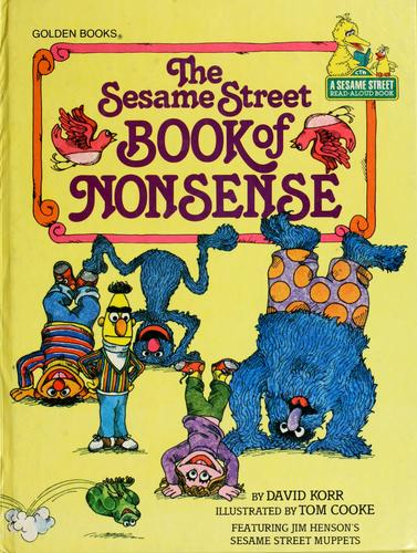 The Sesame Street book of nonsense by David Korr