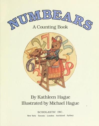 NUMBEARS by KATHLEEN HAGUE
