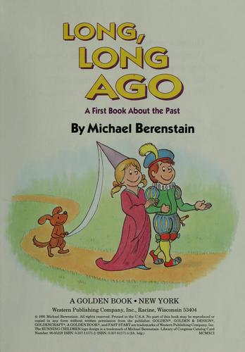 Long, long ago by Michael Berenstain